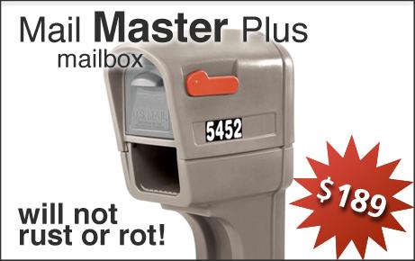 Mail Master Plus Mailbox Installation Option